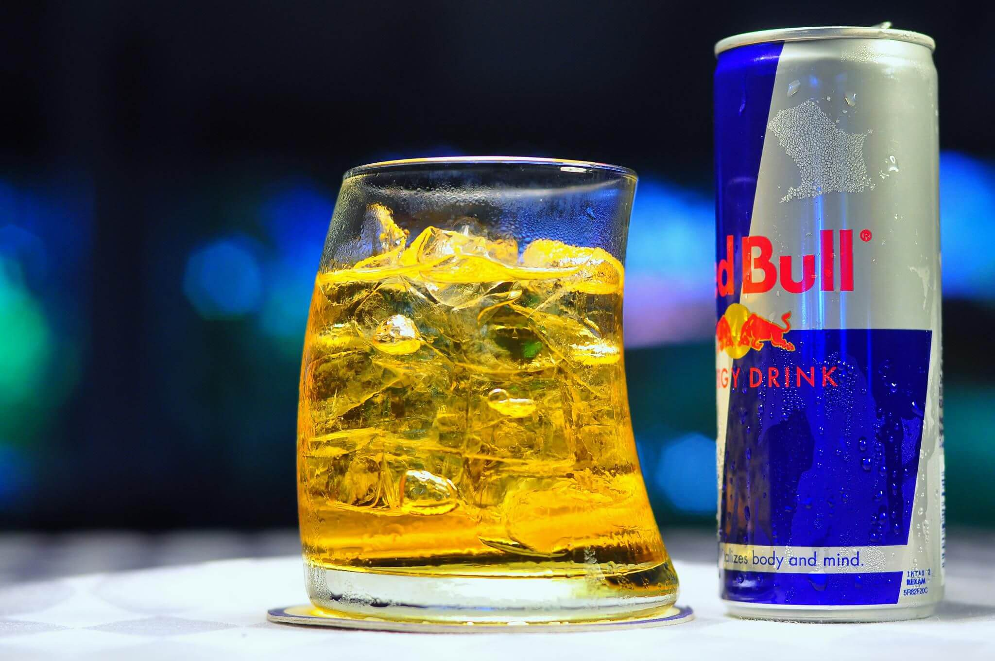 Which of the following is true about energy drinks and mixers:
