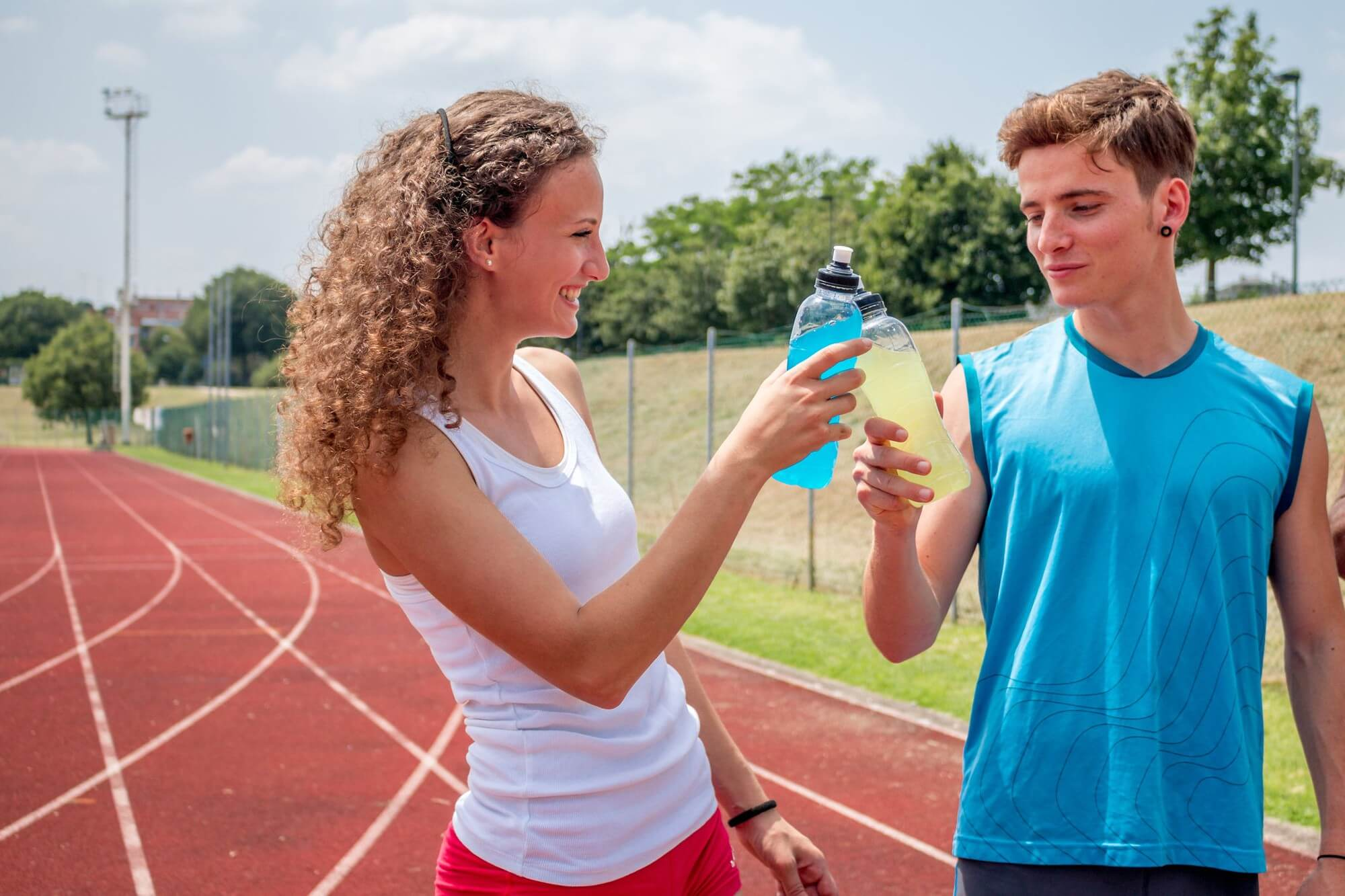 Which of the following is true about energy drinks health and mixers