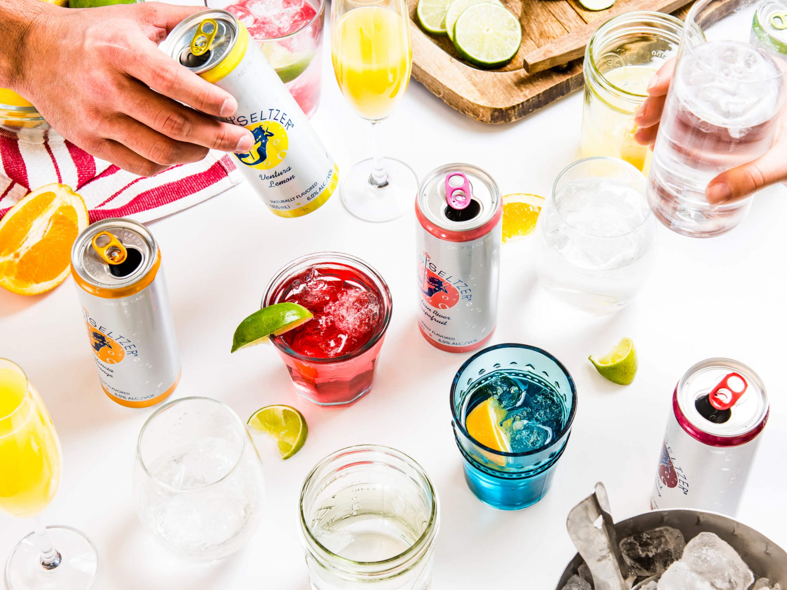 Which of the following is true about the best energy drinks and mixers: Sugar and Alcohol