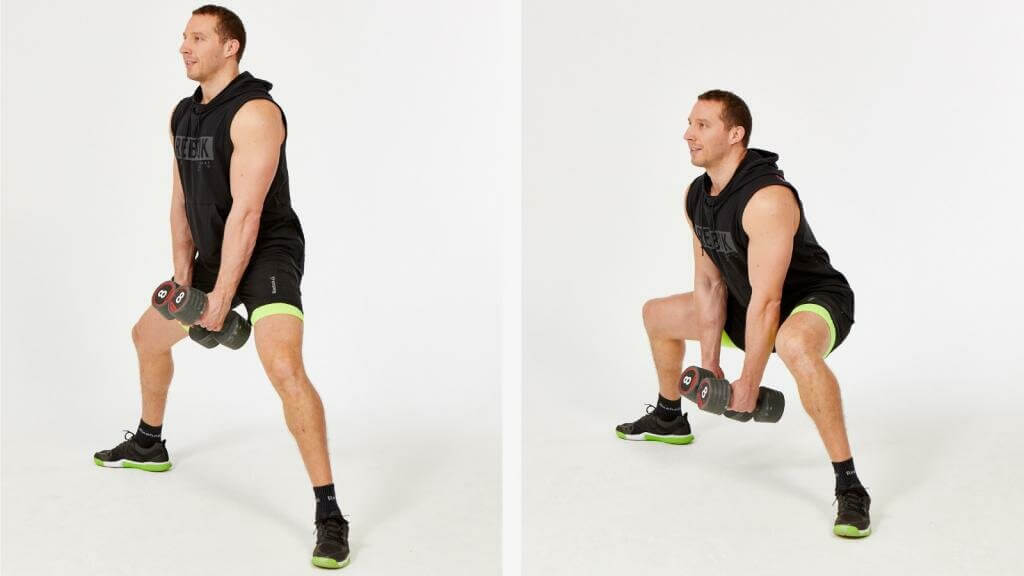 Bulgarian High and Low Squats with changing Position