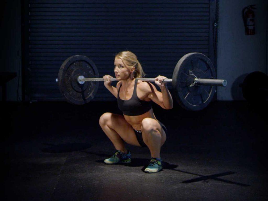 Back squat leg workouts