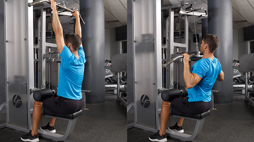 Lat Pulldown Muscles Worked-healthyell