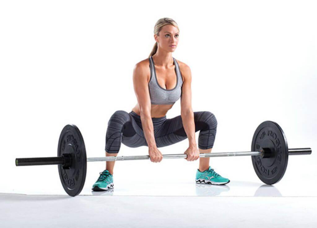 Sumo Deadlift leg workouts for women