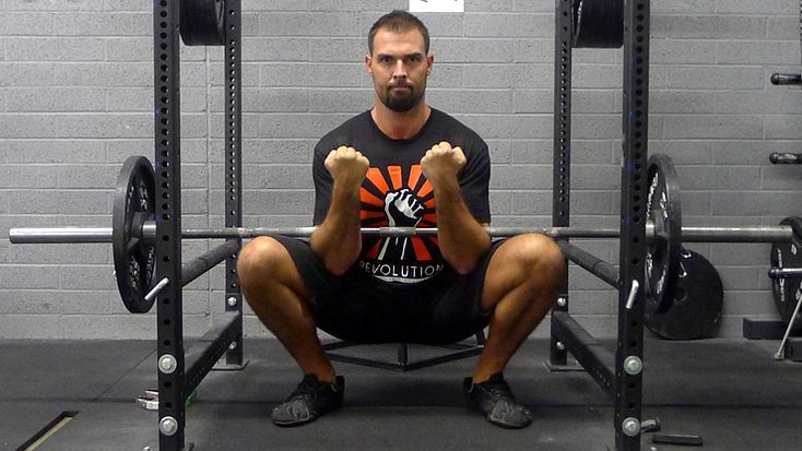Variations of traditional squats