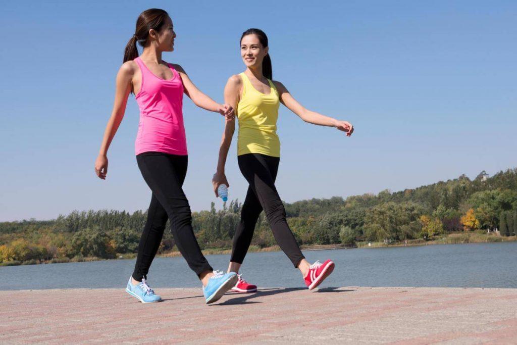 Walking leg workouts at home
